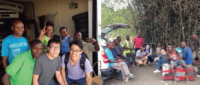 偶然の出会いを経てアフリカでのビジネスに参画