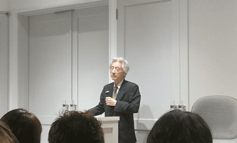 小泉元首相 慶応講演3
