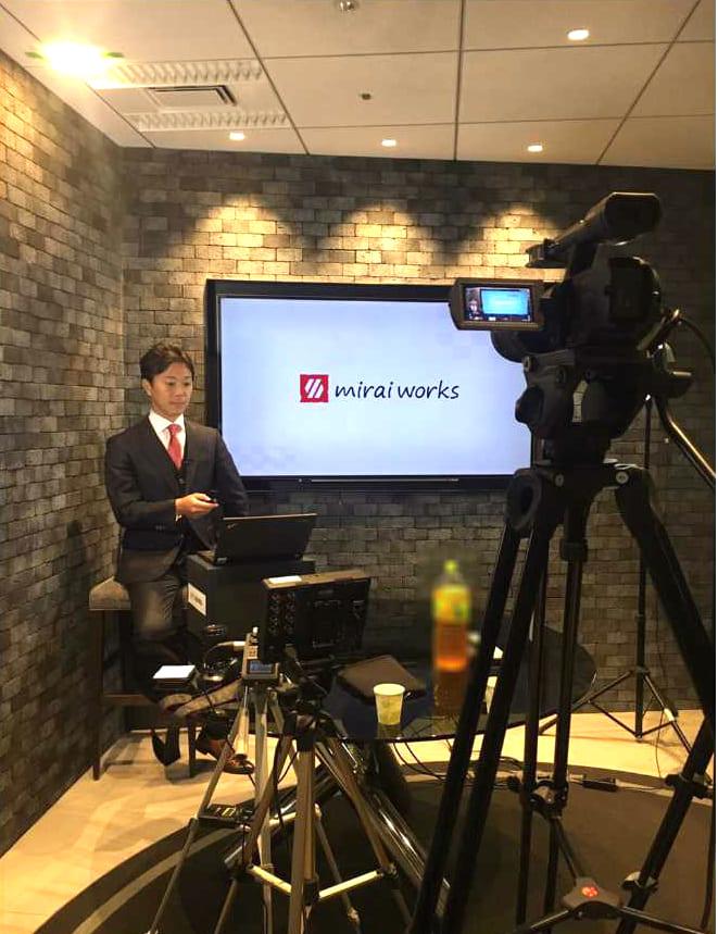 CEOブログTV出演