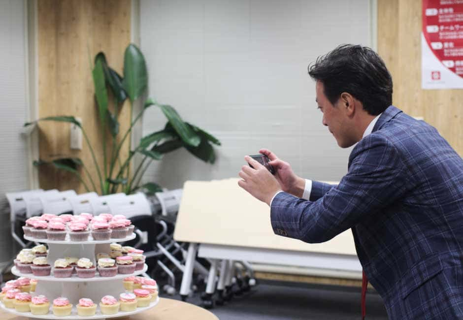 設立7周年ケーキ-3